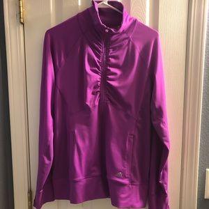 NEW Women's Adidas Climalite jacket, Sz Large